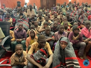 UN chief welcomes release of kidnapped Nigerian school boys